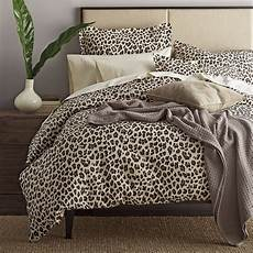 leopard print sheets bedding the company store