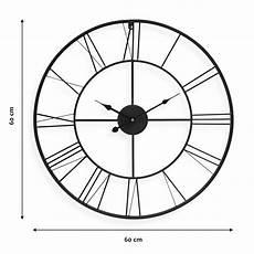 Uhr Malvorlagen Xl Wanduhr Schwarz Antik 60 Cm Durchmesser R 246 Mische Ziffern