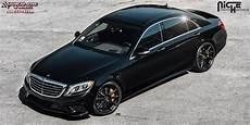Mercedes S63 Niche Essen M147 Wheels Matte Black