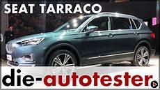 2018 Seat Tarraco Weltpremiere Das Neue Gro 223 E Seat Suv