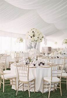 chagne gold montana wedding reception tables