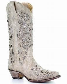 Corral Me Boots Ivory
