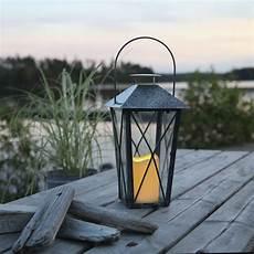 lanterne pour terrasse lantern lanterne ext 233 rieur m 233 tal vieilli gris bo