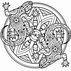 mandala coloring pages lizard 17931 lizards mandala coloring therapy pages パターンデザイン デザイン