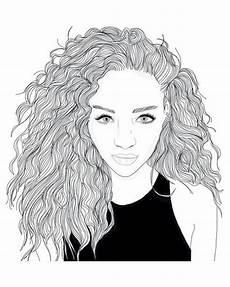 fille swagg joliment cheveux dessin dab dessin
