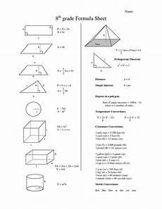 physics measurement worksheets for grade 7 1923 eighth grade math formula chart 8th grade formula sheet teaching helps math