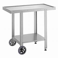 Chariot Inox Multi Usage Pour Plancha Et Barbecue Planet