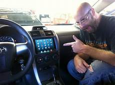 In Car - that s one hell of a multitouch radio for your ride