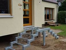 Granit Treppen Außen - hauseingang treppe