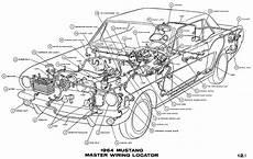 Dash Wiring Diagram For 1968 Mustang by 1964 Mustang Wiring Diagrams Average Joe Restoration