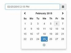 clean date time picker with jquery and bootstrap 3 free jquery plugins