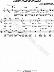glenn miller quot moonlight serenade quot sheet music leadsheet