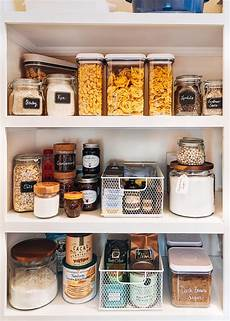 how to organize a pantry and enjoy doing it striped