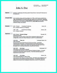 resume objective statement computer science the best computer science resume sle collection