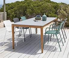table de jardin en ciment 8 10 personnes l220 bergamote