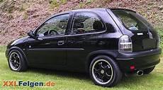schwarze dbv tahiti felgen f 252 r schwarzen opel corsa