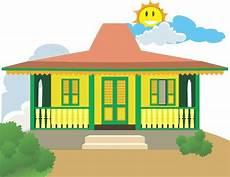 Contoh Gambar Rumah Sederhana Kartun Ideku Unik
