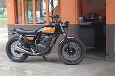 Modifikasi Scorpio by Modifikasi Style Yamaha Scorpio Style Brat