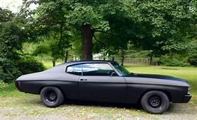 1971 Chevelle With Satin Hot Rod Paint  Auto Pinterest