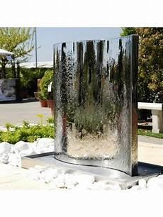 mur d eau exterieur fontaine de jardin mur d eau inox 304 fontaine