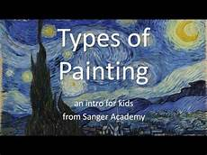 types of painting an intro for kids of all ages sanger