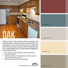 color palette to go with oak kitchen cabinet line for those with oak in 2019 kitchen wall