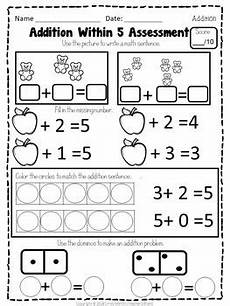 math addition worksheets for preschool 9954 math centers kindergarten addition within 5 worksheets and activities