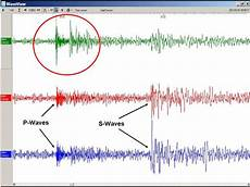 how to read a seismogram part ii