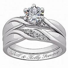 genuine diamond brilliant cz wedding ring 10072194 hsn