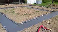 dalle beton pour garage beton fondation garage