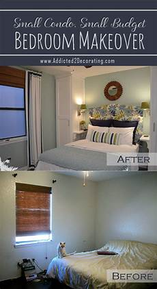 Bedroom Ideas For Small Rooms On A Budget by Small Condo Small Budget Bedroom Makeover Before
