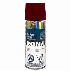 peinture aerosol pour plastique peinture en a 233 rosol pour plastique 340g bordeaux rona