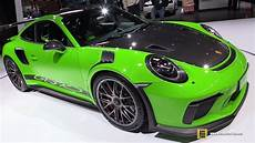 2018 porsche 911 gt3 rs weissach package exterior and