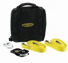 smittybilt 2729 atv winch accessory kit tow towing snatch block shackles ebay