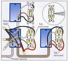 wire an outlet how to wire a duplex receptacle in a variety of ways in 2019 outlet wiring