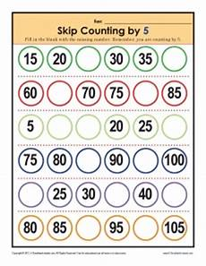 skip counting by 5 worksheets for kindergarten 12018 skip counting worksheets by 5