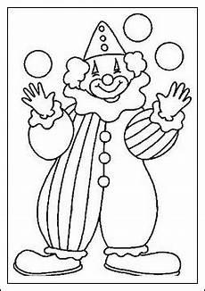 ausmalbilder zum ausdrucken ausmalbilder clown kostenlos