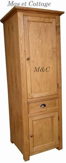 colonne de en bois meuble de cuisine en bois massif