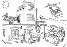 free lego city printable coloring pages free