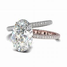 oval diamond engagement ring from bez ambar