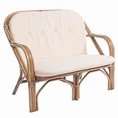 divanetto rattan divanetto in rattan con cuscini mobili provenzali giardino