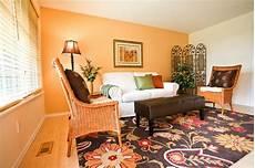 wandfarbe orange 60 wandfarbe ideen in orange naturinspirierte gestaltung