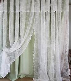 shabby chic tale layer with valance
