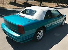how does a cars engine work 1994 oldsmobile silhouette security system 1994 oldsmobile cutlass supreme convertible newer engine no reserve classic oldsmobile