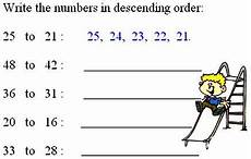 writing numbers in ascending and descending order worksheets 21206 descending order worksheets printables printable math worksheets free math worksheets