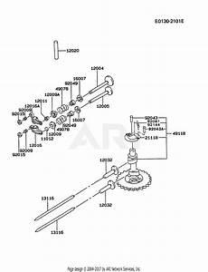 Diagram Of A Valve by Kawasaki Fc420v Bs14 4 Stroke Engine Fc420v Parts Diagram