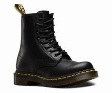 s 1460 smooth black and white shoes boots the