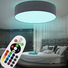 Led Deckenleuchte Farbwechsel - rgb led deckenleuchte farbwechsel fernbedienung wohnzimmer