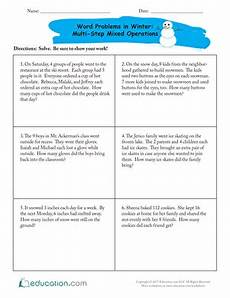two step word problems worksheets 4th grade 11482 decimal addition practice worksheet education