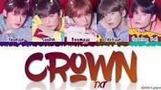 Namen Mit I - txt crown lyrics color coded han rom eng